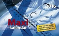 Maxi kalendář 2016 - stolní kalendář