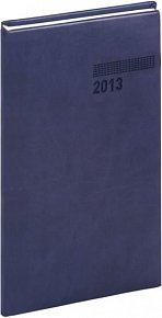 Diář 2013 - Tucson-Vivella - Kapesní, tmavě modrá, 9 x 15,5 cm