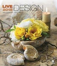 Kalendář nástěnný 2015 - Live Design