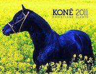 Kalendář 2011 - Koně - Christiane Slawik Supermini (15x11,5) stolní