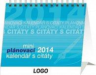 Kalendář 2014 - Plánovací s citáty Praktik - stolní