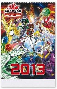 Bakugan 2013 - nástěnný kalendář