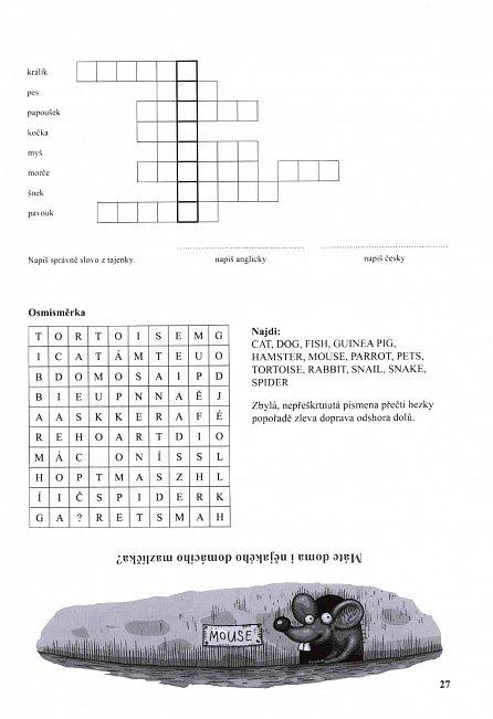 Náhled Hravá angličtina v křížovkách 2 - Více než 100 křížovek a osmisměrek