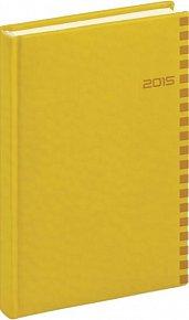 Diář 2015 - Tucson-Ontario - Denní B6, žlutá (CZ, SK, GB, DE)