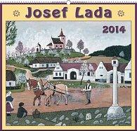 Kalendář 2014 - Josef Lada Na jaře - nástěnný s prodlouženými zády
