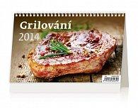 Kalendář 2014 - Grilování - stolní