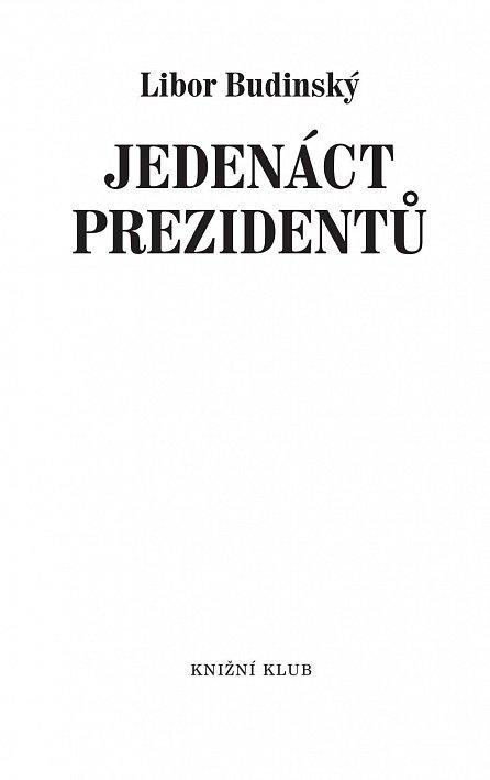 Náhled Jedenáct prezidentů