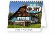 Kalendář stolní 2016 - České chalupy Praktik,  16,5 x 13 cm