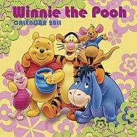 Kalendář 2011 - Walt Disney - Medvídek Pú (30x60) nástěnný poznámkový