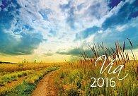 Kalendář nástěnný 2016 - Via