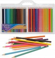 Pastelky dřevěné 48 barev