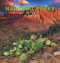 Kalenář nástěnný 2012 - Národní parky Jiří Stránský, 44 x 46 cm