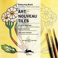 Art Nouveau Design Tiles (Artists Colouring Book)
