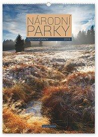 Kalendář 2015 - Národní parky Čech a Mor