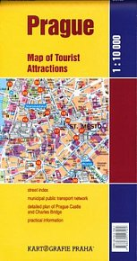 Prague Map of Tourist Attractions