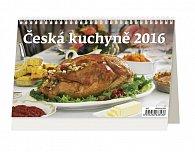 Kalendář stolní 2016 - Česká kuchyně