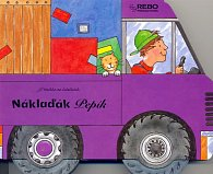 Náklaďák Pepík - knížka na kolečkách
