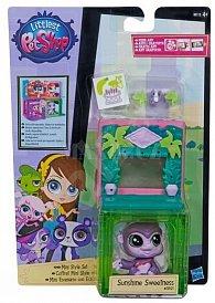Littlest Pet Shop zvířátko s mini domečkem