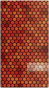 Diář 2014 - kapesní - Napoli čtrnáctidenní - design 05