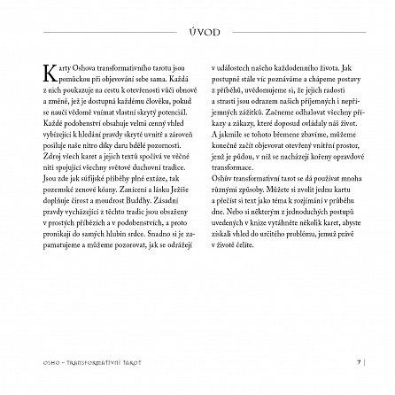 Náhled Transformativní tarot - 60 obrázkových karet a kniha pro duchovní vhled a rozvoj