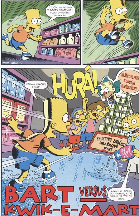 Náhled Simpsonovi - Bart Simpson 6/2018 - Velkej šéf