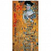 Kalendář nástěnný 2016 - Gustav Klimt,  33 x 64 cm