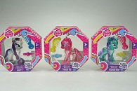 My Little Pony průhledný poník s třpytkami a doplňkem