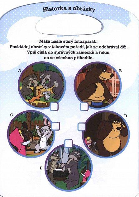 Náhled Máša a medvěd - Zábava na cesty