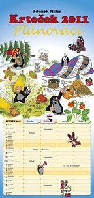 Kalendář 2011 - Krteček (20x42) nástěnný plánovací