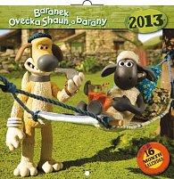 Kalendář 2013 poznámkový - Ovečka Shaun, 30 x 60 cm