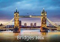 Kalendář nástěnný 2016 - Bridges