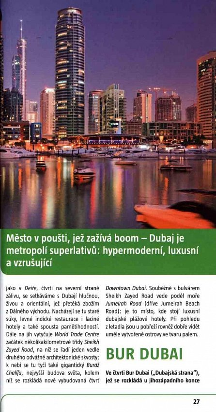 Náhled Dubaj / MP průvodce nová edice