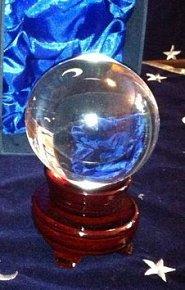 Křišťálová koule 15 cm