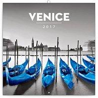 Kalendář poznámkový 2017 - Benátky