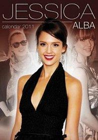 Jessica Alba 2011 - nástěnný kalendář