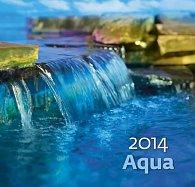 Kalendář 2014 - Aqua - nástěnný