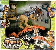 Sada Lovci dinosaurů - dinosaurus a vozidlo