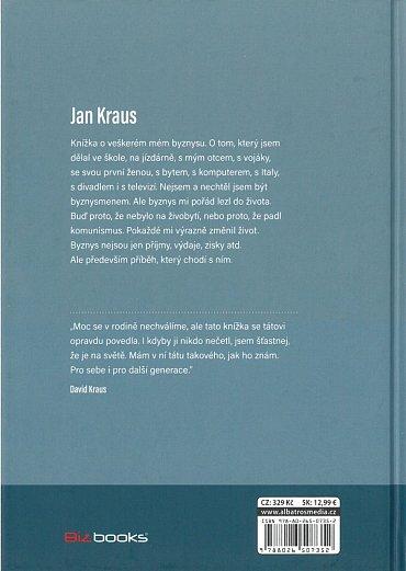 Náhled Jan Kraus: Můj soukromý buzynes