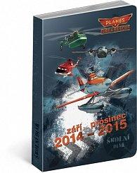 Diář 2015 - W. Disney Letadla školní diář září 2014 - prosinec 2015
