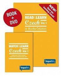 Read + Learn Czech Vol.1 (učebnice+DVD)