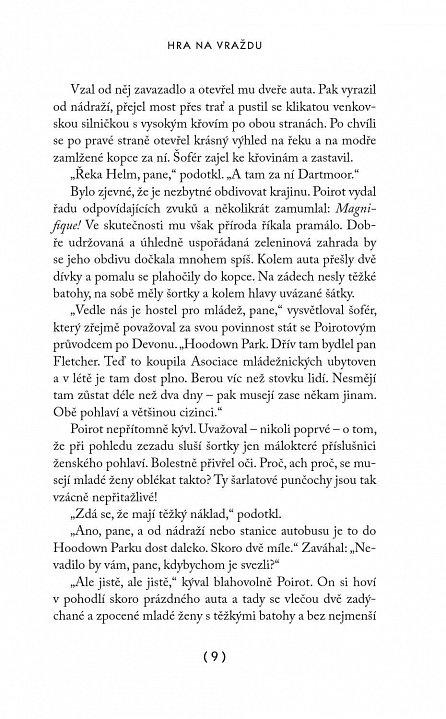 Náhled Poirot: Hra na vraždu – 3. vydání