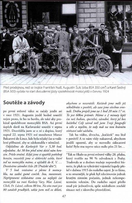 Náhled Augustin Šulc: Měl jsem motocykl rád