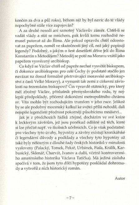 Náhled Nevinný bratrovrah - Román z doby Přemyslovců Václava a Boleslava