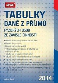 Tabulky daně z příjmů fyzických osob ze závislé činnosti 2014