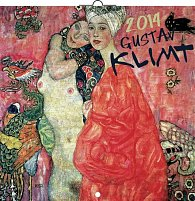 Kalendář 2014 - Gustav Klimt - nástěnný poznámkový (ČES, SLO, MAĎ, POL, RUS, ANG)