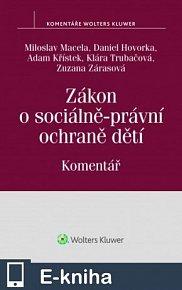 Zákon o sociálně-právní ochraně dětí (č. 359/1999 Sb.) - Komentář (E-KNIHA)