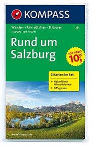 Rund um Salzburg 291 ,2 mapy / 1:50T NKOM