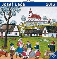 Kalendář 2013 poznámkový - Josef Lada Na návsi, 30 x 60 cm