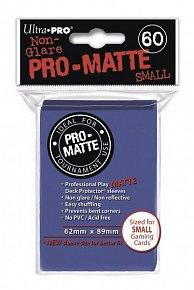 UltraPRO: 60 DP PRO Matte obaly malé  - modrá
