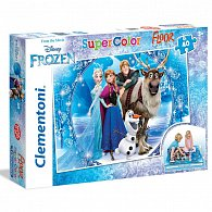 Puzzle Supercolor Ledové Království 40 dílků